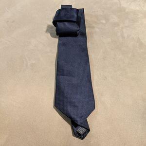 100% Silk DKNY Blue Necktie